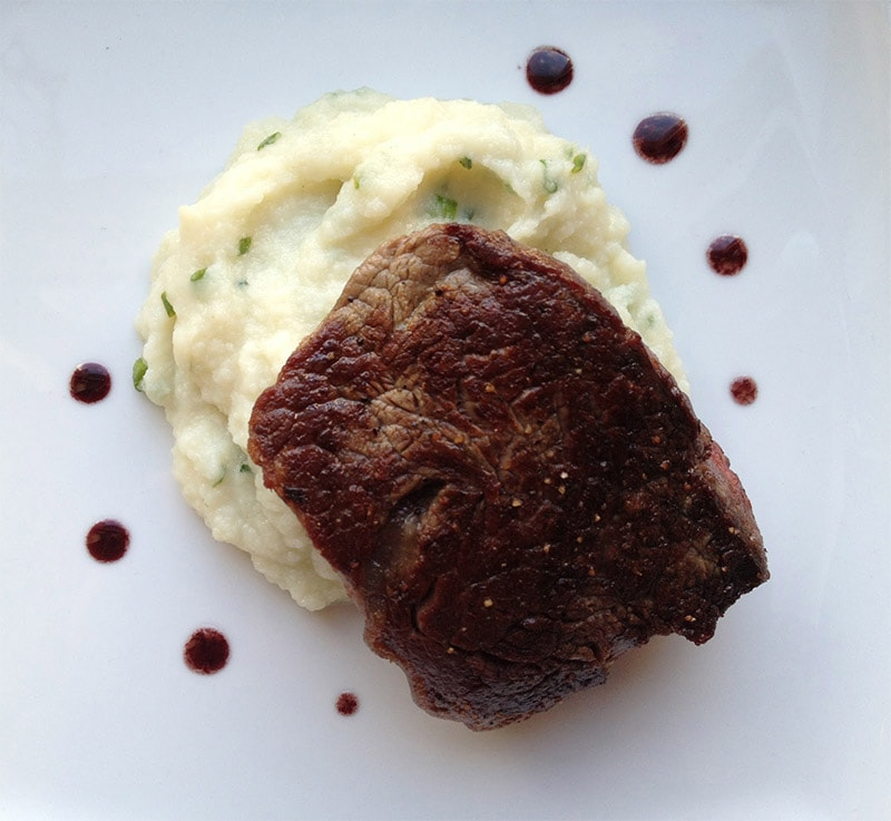 Filet with Cauliflower
