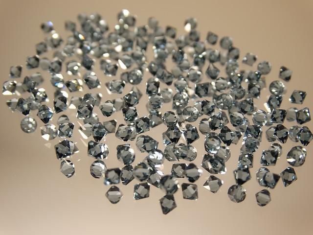 diamonds and teeth