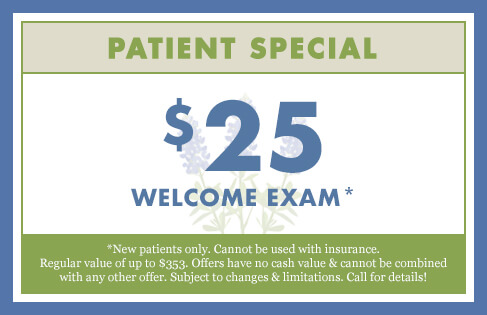 $25 Welcome Exam