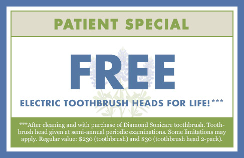 Free Electric Toothbrush Heads for Life!